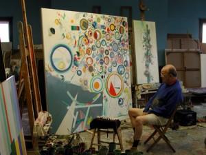 2008, Robert S Neuman in Studio