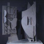 Nevelson, Maquette for Night Wall I
